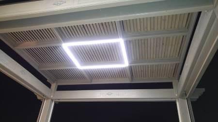 תאורה לפרגולה יוקרתית